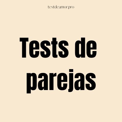 tests de parejas